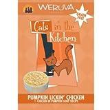 Pumpkin Lickin' Chicken Wet Cat Food (Box of 8 Pouches), My Pet Supplies