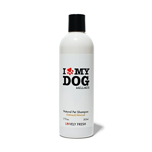 Dog Shampoo with Oatmeal & Almond Oil Moisturizes Skin, Soothes & Conditions Coat Perfect for Sensitive, Dry & Normal Skin Premium ()