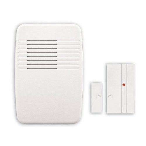 Heath Zenith White Wireless Doorbell Item#56293 Model#LE-6168-B UPC#016963616820