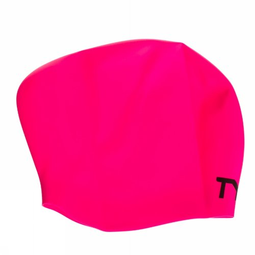 tyr-long-hair-wrinkle-free-silicone-swim-cap-pink