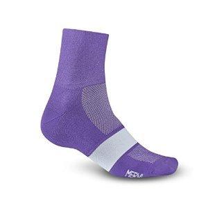 Giro GE20130 Mens Classic Racer Socks, Purple/White - ()