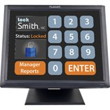 Planar Systems 997-5967-00 Model Touch Screen Monitor, PT1545R, Economical 5-Wire Resistive with Dual Serial/USB, Internal Power, Speakers, 15