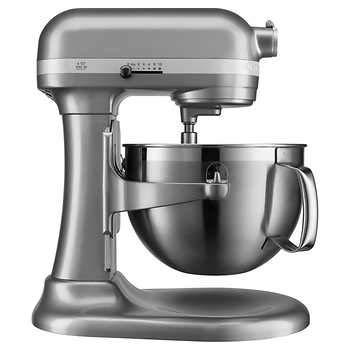 KitchenAid KP26M9XCCU 6-Quart Bowl-Lift Professional Stand Mixer, Contour Silver by KitchenAid