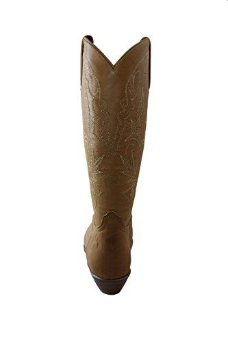 El Vintage Boots Charro Maple 1226 Leather Brown Women TTSxr