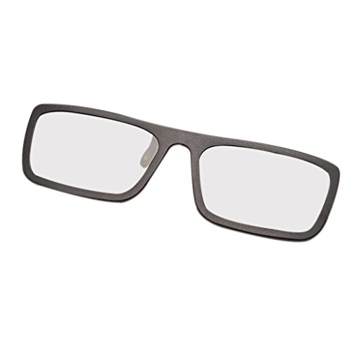 ForHe 1 Pair 3D Cinema Glasses For Passive TVs - Movie Theater Glasses - Square Polarized