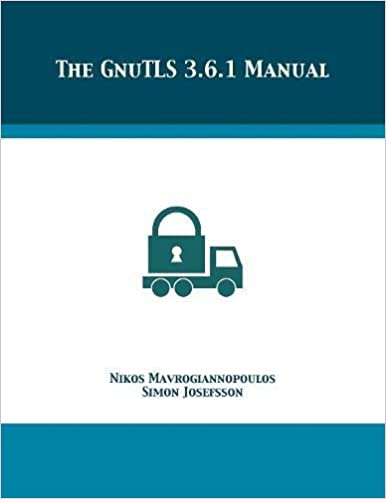 Book The GnuTLS 3.6.1 Manual