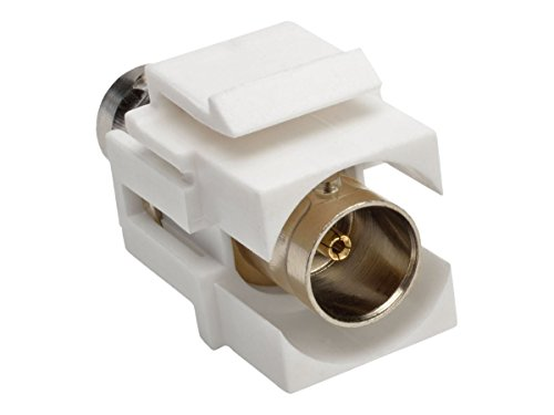 Tripp Lite BNC Keystone Panel Mount Coupler All-in-One Coaxial F/F 75 Ohms (A230-001-KP)
