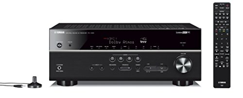 Yamaha RX-V685BL 7.2-Channel 4K Ultra HD AV Receiver with Wi-Fi Bluetooth and MusicCast Works with Alexa Black