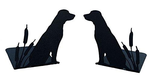 Mustard Seed Metal Worx Labrador Retriever Book Ends, set of ()