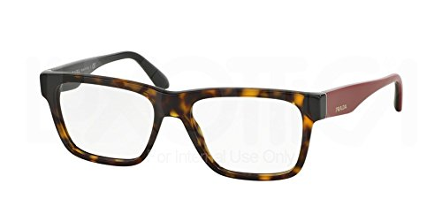 Prada Voice Eyeglasses PR16RV 2AU1O1 Havana 51 16 140 (Prada Voice)