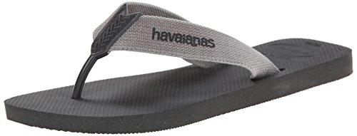Havaianas Men's Urban Basic Flip Flop, Grey, 45 EU/13 M US