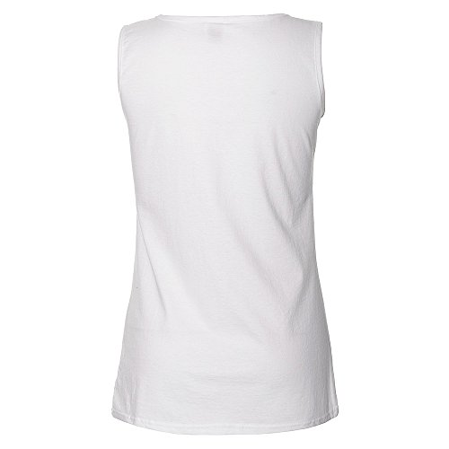 Black Veil Brides Skullogram BVB Andy New Official White womens Skinny Fit Vest