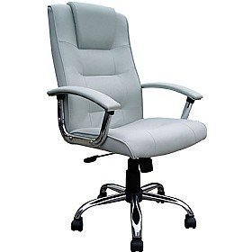 loughborough leather faced manager silver amazon co uk office products