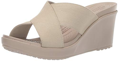 Leigh Cobblestone Orange Sabots 1c4 Xstrap oyster Ii Femme Crocs Wedge W wTxO7PHOn