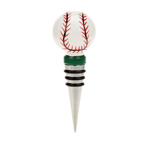 Top Shelf Baseball Bottle Stopper