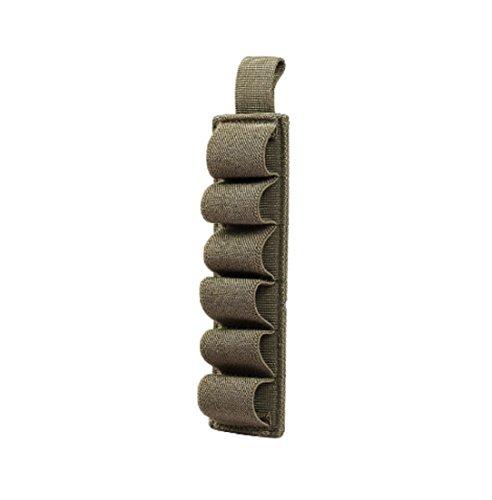 YABINA Outdoor Airsoft Hunting Tactical Shotgun Shell Ammo Holder Military Sling (Army green)