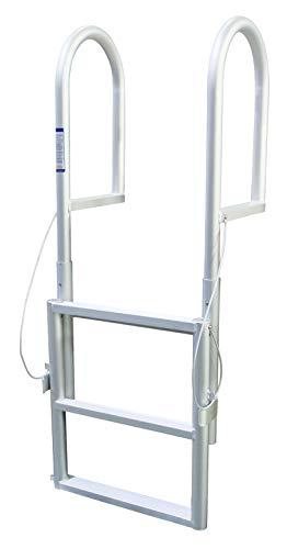 Extreme Max 3005.3458 Sliding Dock Ladder, 3 Step