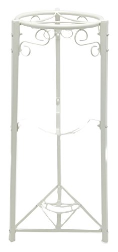 "Bluewave 3-Step Floor Metal Stand - 35"" Inch Metal, White"