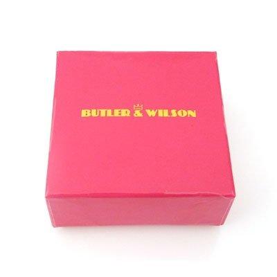Butler et Wilson cristal gros maillons Bracelet avec fleurs