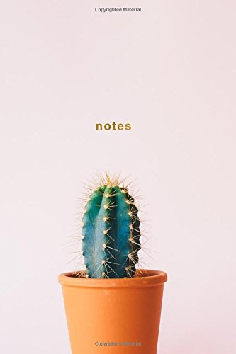 Notes: Cactus Notebook Wide-Ruled 175-Pages (Cactus Notebooks) (Volume 1)