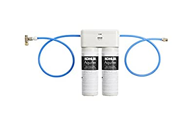 KOHLER 77686-NA Aquifer Double Cartridge Water Filtration System