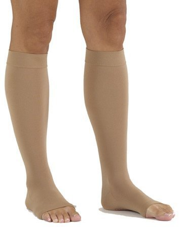 mediven comfort 20-30 mmHg Calf High Compression Stockings Open Toe [並行輸入品] B07QNRGMTP