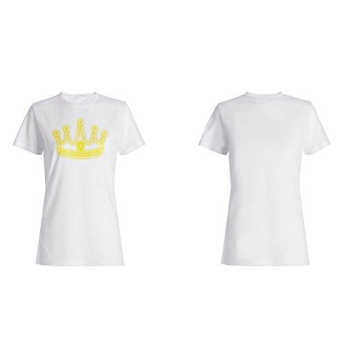 Königin König Krone Neuheit Lustig Damen T-shirt a788f