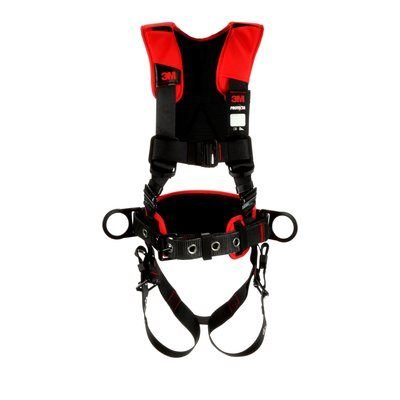 Protecta Black Comfort Construction Style Positioning Harness (Size:M/L) by 3M VASP Fall Protection (Image #2)