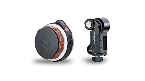 Tilta Nucleus-Nano Wireless Lens/Focus Control System to Wirelessly Control The Focus of Most DSLR, Mirrorless, or Cine-Style Lenses on Cage, Gimbal Such As Ronin S