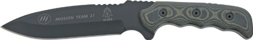(Tops Knives Mission Team 21 Fixed Blade Knife)