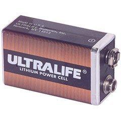 Ultralife 9V Lithium Battery U9VL-J Aluminum Housing by Ultralife