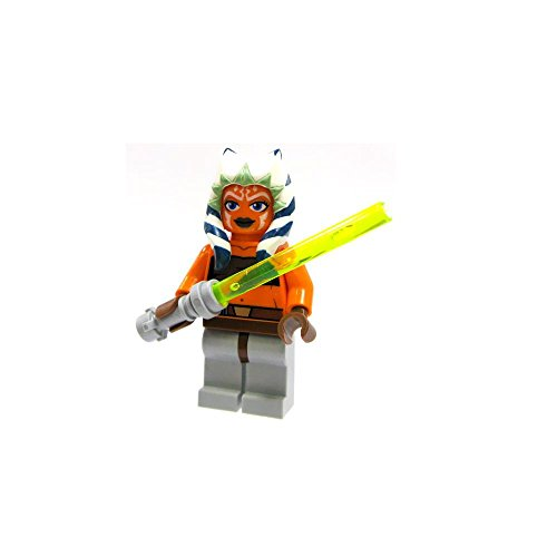 LEGO Star Wars Minifigure Ahsoka with Lightsaber Clone (Star Wars Ahsoka Lightsaber)