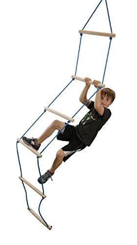 Kit Ninja Accessory (Slackers NinjaLine Rope Ladder, Blue,)