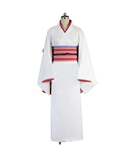 [Smoon Cosplay Noragami Nora Hine Kimono Customized Costume(Customized)] (Noragami Nora Costume)