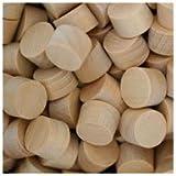 WIDGETCO 3/8'' Maple Wood Plugs, Face Grain