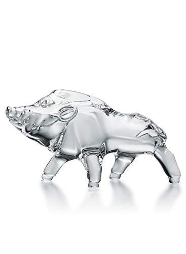 Baccarat Crystal Zodiac Boar 2019, Clear
