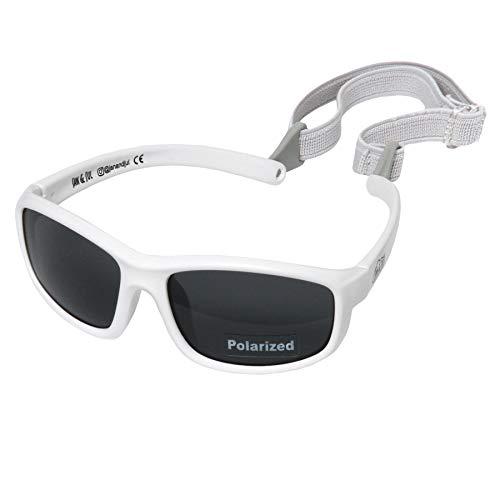 e66fea46fb4 Baby Toddler Polarized Sun-glasses With Strap 100% UV Block (M  6m-6Y