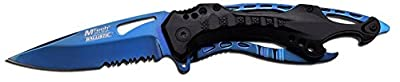 Tac-Force MT-A705BL spring Assisted Tactical Folding Knife, 4.5-inch Closed