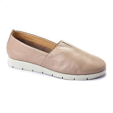 Darkwood Casual Slip On Shoes For Women- Sand