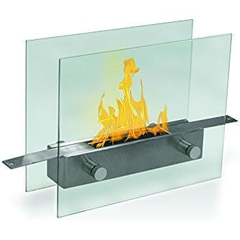 Amazon.com: METROPOLITAN Table Top Ethanol Fireplace: Home & Kitchen
