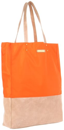 Rebecca Minkoff Toki tote H534B01C Tote,Bright Orange,One Size