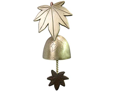 Antique Maple Tree Door Bell Magnetic Shopkeepers Home Garden Kitchen Porch Decoration Ornament Brass Store Wind Chime Decorative Hanging Wall Bell