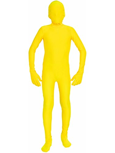 Kids Yellow Morphsuit (Forum Novelties I'm Invisible Costume Stretch Body Suit, Yellow, Child)