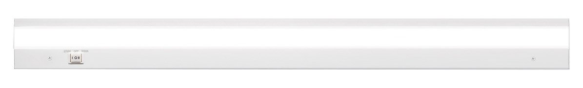 WAC Lighting Duo BA-ACLED30-27/30WT Acled Dual Color Option Bar Finish 2700K and 3000K, 30 Inches, White