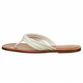 Bernardo Kvinners Miami Napa Thong Sandal Hvit