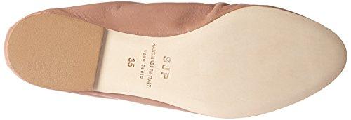 SJP by Sarah Jessica Parker Damen Gelsey Geschlossene Ballerinas Braun (Sneak Nappa)