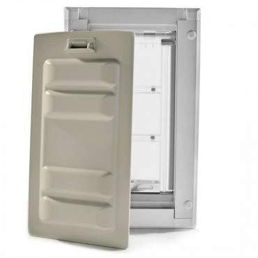 Endura Flap Medium Wall Mount - White Double Flap 8'' x 14'' Pet Door by Endura Flap (Image #4)
