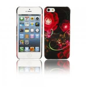 Flower Pattern Protective PC Case for iPhone 5/5S (3)