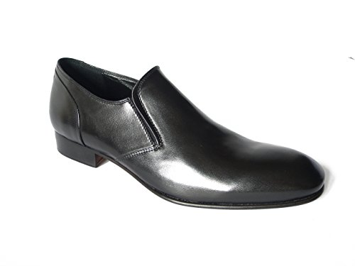 à de Noir Nero OSVALDO ville PERICOLI lacets homme Chaussures pour qIpUF