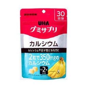 UHA味覚糖 UHA グミサプリ カルシウム 30日分×10個 B01JHR39RC